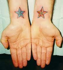fotos de tatuajes de estrellas en la muñeca para chicas