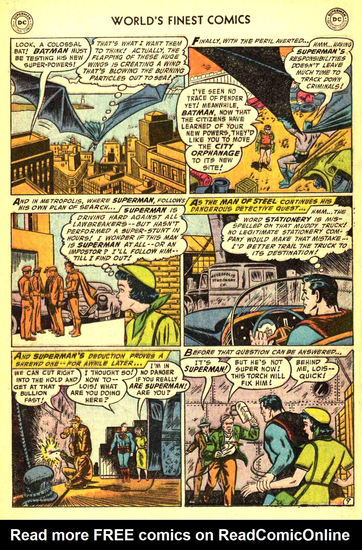 Read online World's Finest Comics comic -  Issue #77 - 11