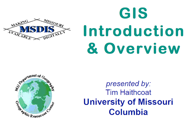 GIS Introduction & Overview [PRESENTASI]