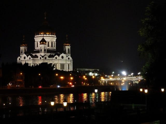 Sobór Chrystusa Zbawiciela w Moskwie (sierpień 2016)