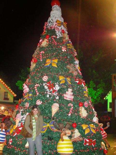 Decoração natalina nas ruas, Gramado.
