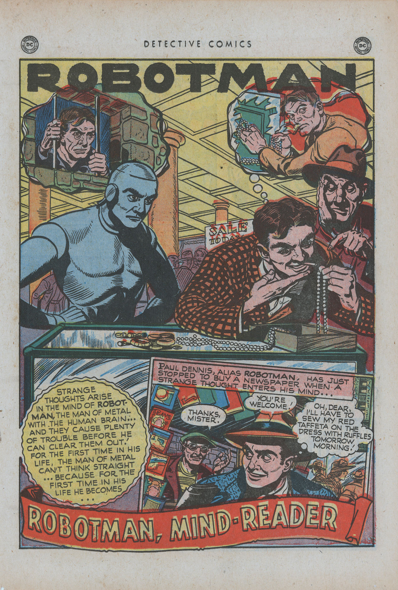 Read online Detective Comics (1937) comic -  Issue #154 - 27
