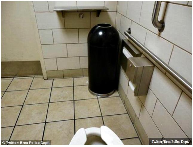 Kevin's Security Scrapbook: Spycam Found in Hospital Bathroom