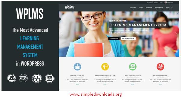 WPLMS Wordpress Theme Free Download
