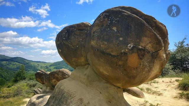 Drumeție de weekend în Buzău:Trovanții sau Babele de la Ulmet