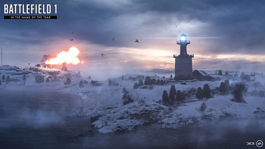 battlefield 1 in the name of the tsar volga river