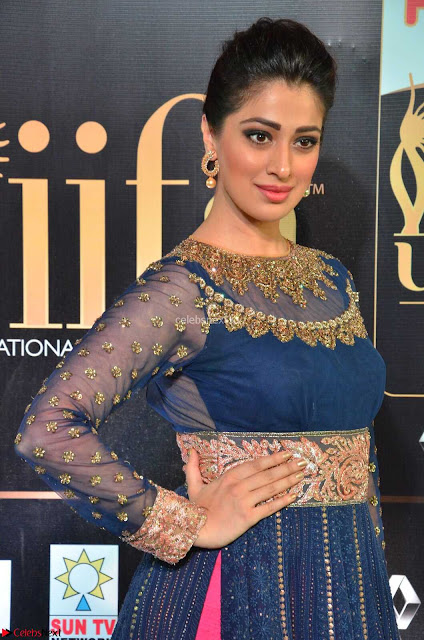 Raai Laxmi in Beautiful Backless Designer Anarkali Gown at IIFA Utsavam Awards 2017  Day 2  Exclusive 01.JPG