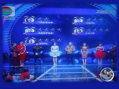Yang Turun Panggung Bintang Pantura 3 babak 36 Besar, Grup 4, Tampil 4 Oktober 2016