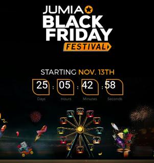 Jumia Black Friday Festival November To December 2017