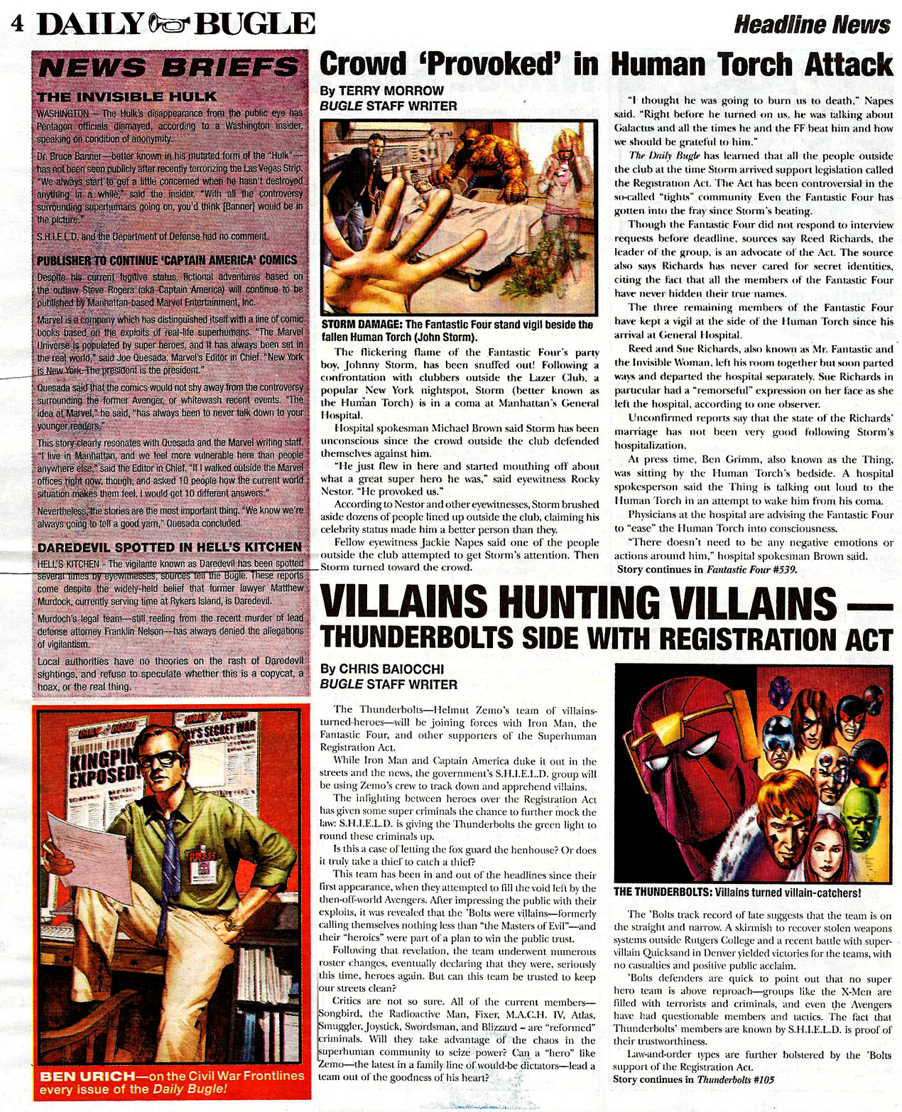 Read online Daily Bugle (2006) comic -  Issue #0 - 4