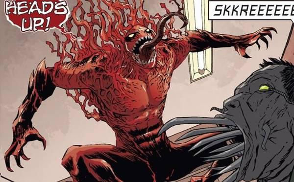 siapa toxin adalah symbiote terkuat marvel comics anak carnage