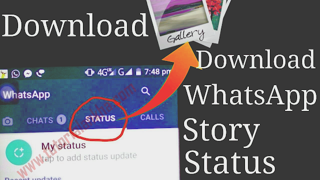 Cara mengunduh atau Mendownload status Video WhatsApp