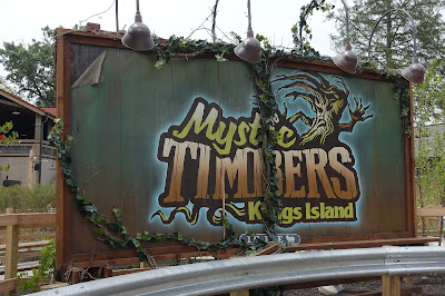 Mystic Timbers Review - Kings Island