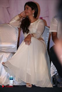 Actress Poonam Bajwa Pictures in White Dress at Muthina Kathirikai Movie Audio Launch  0015