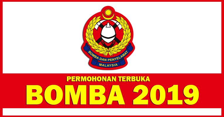Permohonan Terbuka Jawatan di Jabatan Bomba dan Penyelamat Malaysia BOMBA