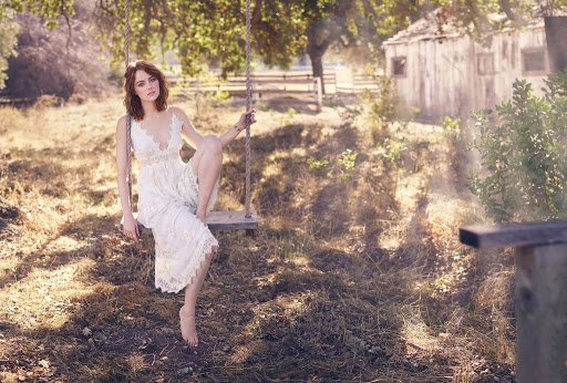 Emma Stone beauty model Rolling Stone Magazine photo shoot