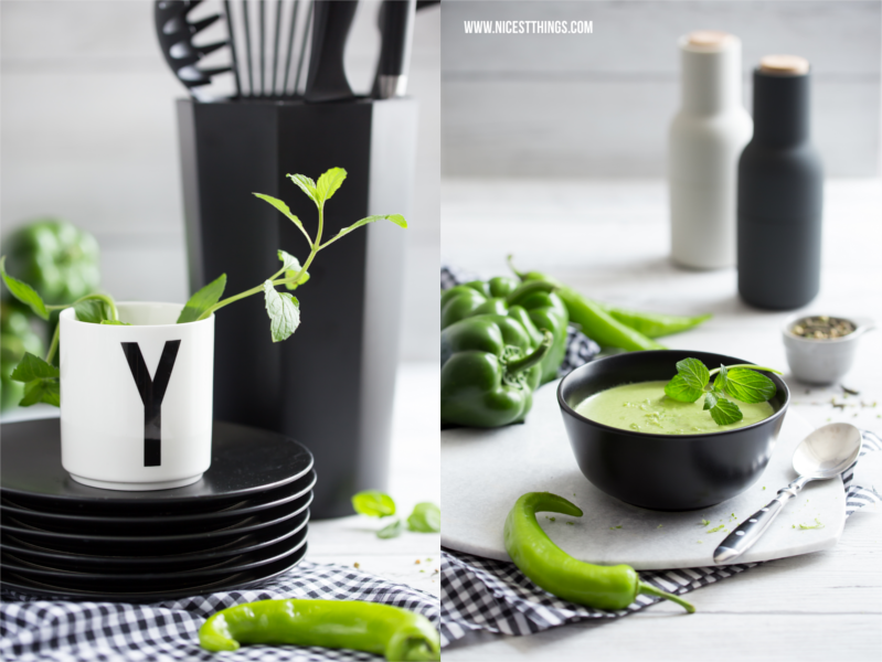 Grüne Gazpacho Rezept