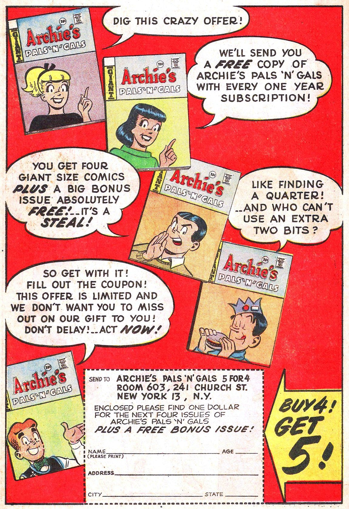 Read online Archie (1960) comic -  Issue #150 - 19
