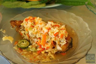 Kuliner Indonesia - Gabus Pucung Leuwinanggung