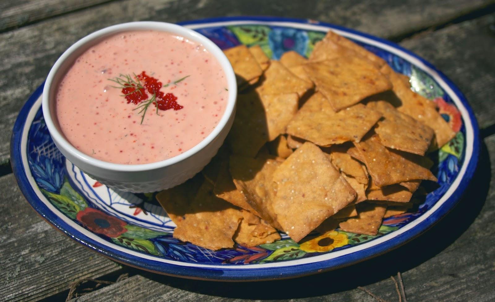 Greek Caviar Dip Taramasalata Foodie Friday Food Of The