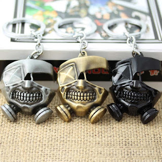 Anime Tokyo Ghoul Keychains Accessories