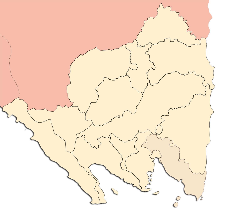 Peta Lampung Lengkap Nama Kabupaten Kota Sejarah Negara Gambar Buta