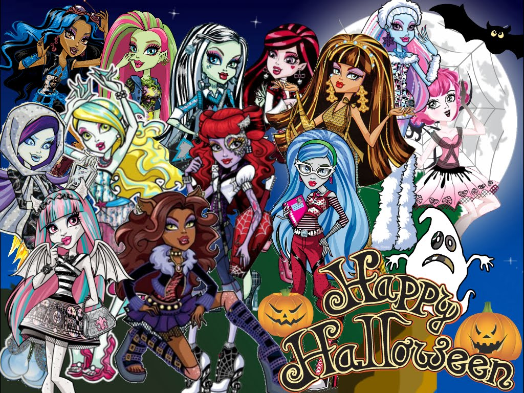 Fondos De Pantalla De Monster High: El Bloc De Monster High: Fondos De Pantalla De Monster High