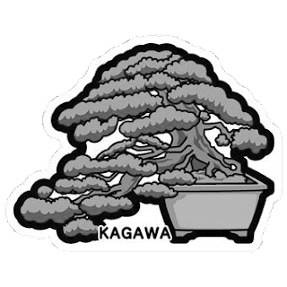 gotochi postcard bonsai pin