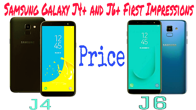 Samsung galaxy j4+ J6+