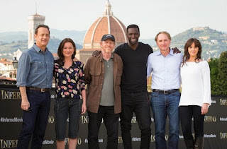 Ron Howard e il cast del film