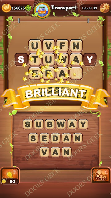 Word Bright Level 39 Answers, Cheats, Solutions, Walkthrough for android, iphone, ipad and ipod