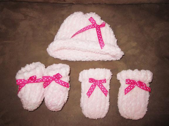 Tricks of the Trade: Loom Knitting, Newborn Baby Hat ...