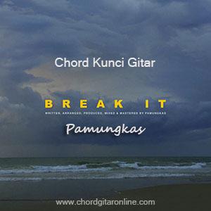 Chord Kunci Gitar Pamungkas Break It Kord Lagu