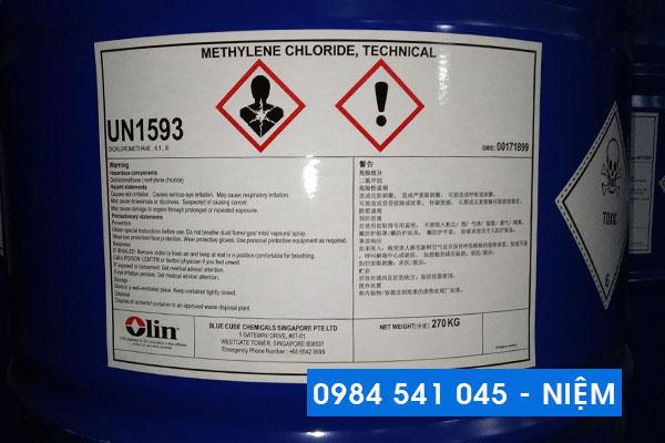 Dung môi công nghiệp Methylene Chloride (MC)