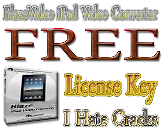 BlazeVideo iPad Video Converter Free Download With Legal License Key