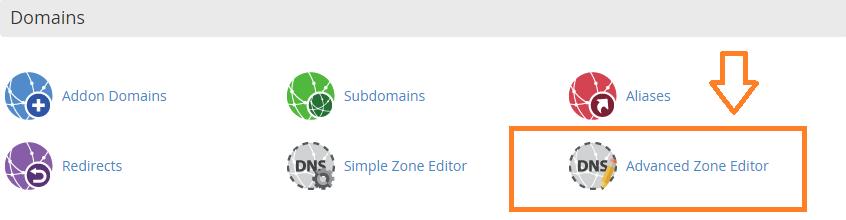 Zone Editor DNS