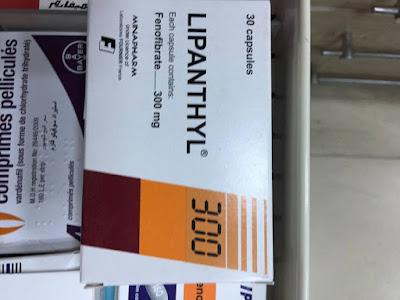 عقار ليبانتيل Lipanthyl لعلاج زيادة نسبة الكوليسترول والجليسرايد