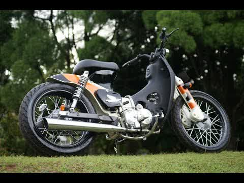 Modifikasi Honda Grand Black Stylish