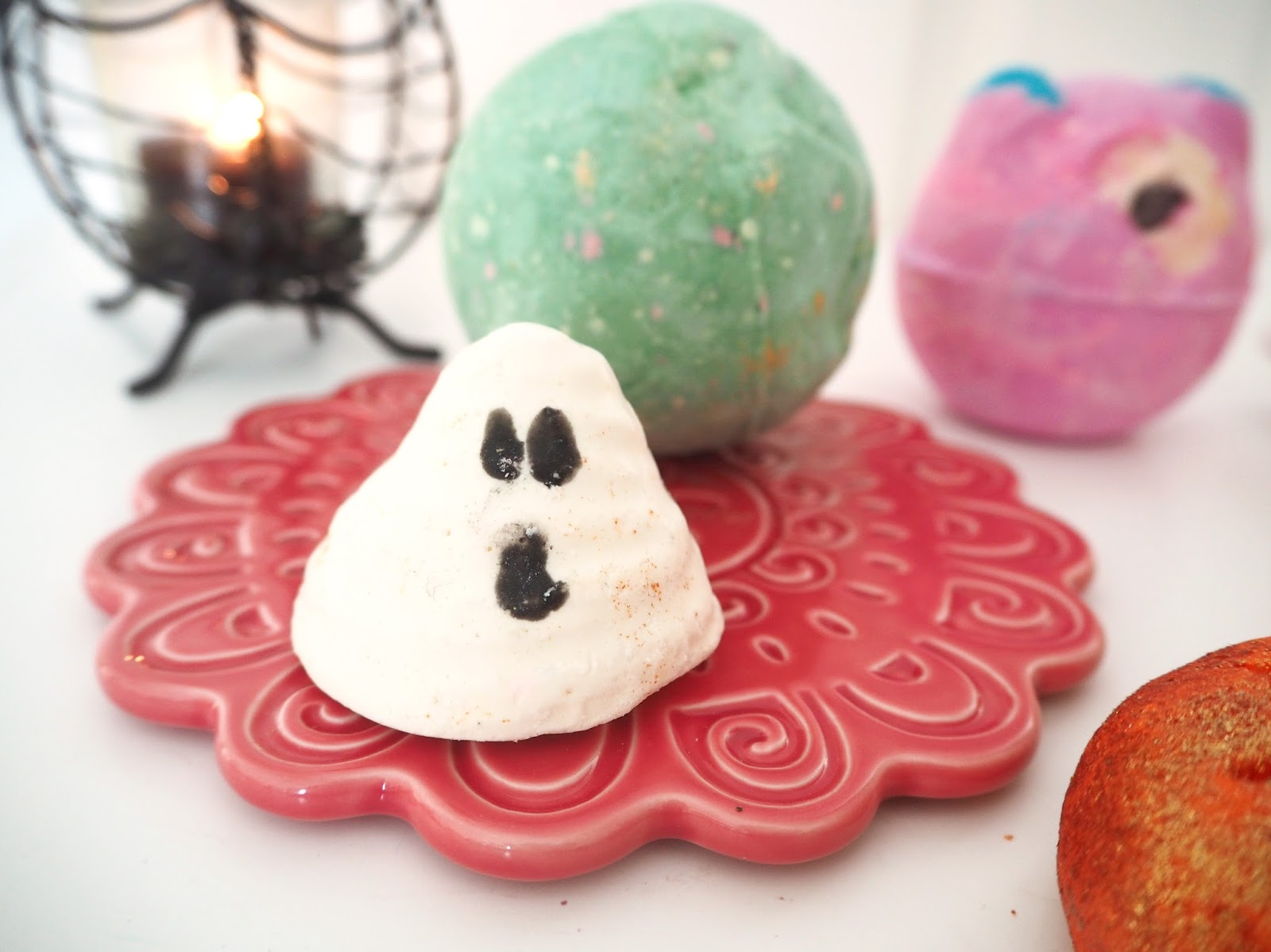 Lush Halloween Collection 2016, Katie Kirk Loves, Boo Bath Melt, Beauty Blogger, Bath Products, Lush UK