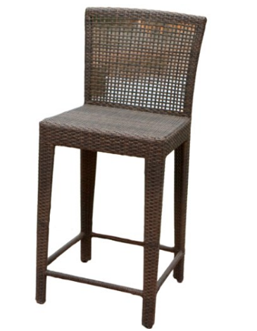 Arizona Outdoor Wicker Bar Stool
