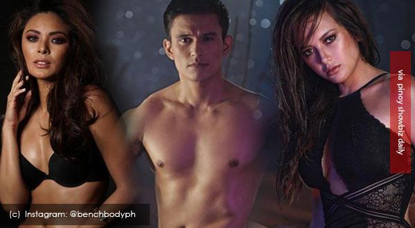 Maxine Medina, Tom Rodriguez, and Ellen Adarna for Bench Under The Stars