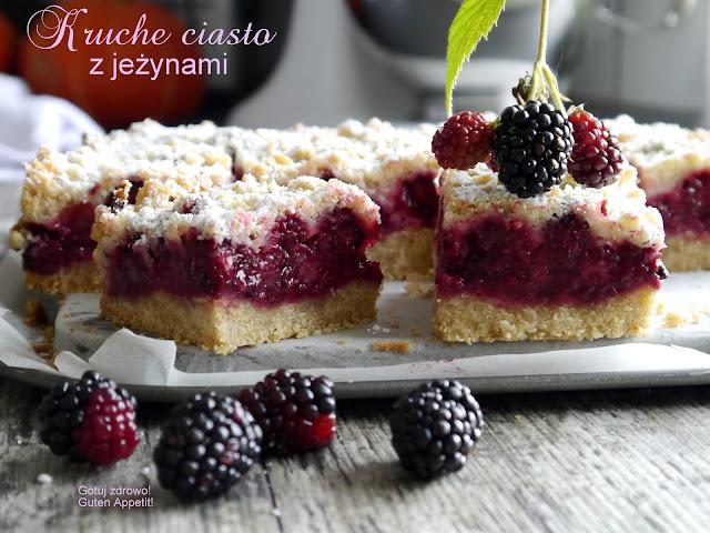 Kruche ciasto z jeżynami - Czytaj więcej »