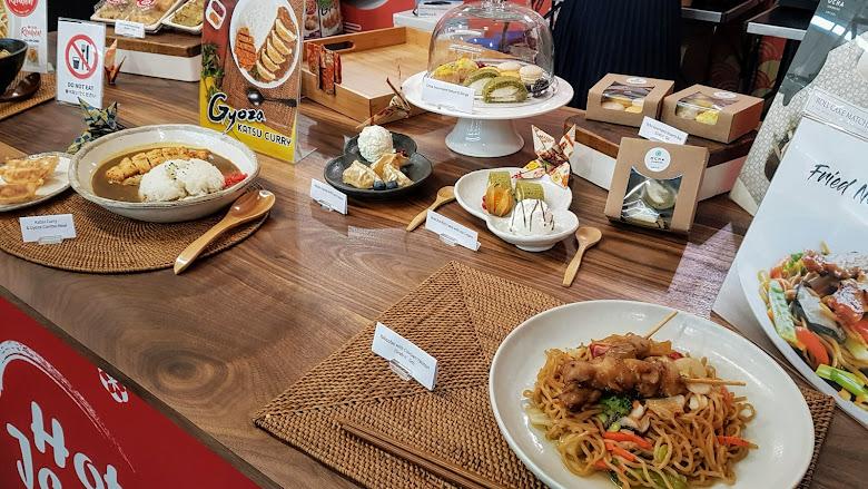 食物展覽與試吃