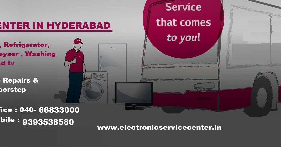 Lg Service Center In Hyderabad