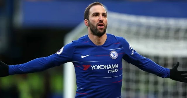 Higuain ready to dump Chelsea with Sarri's future in doubt
