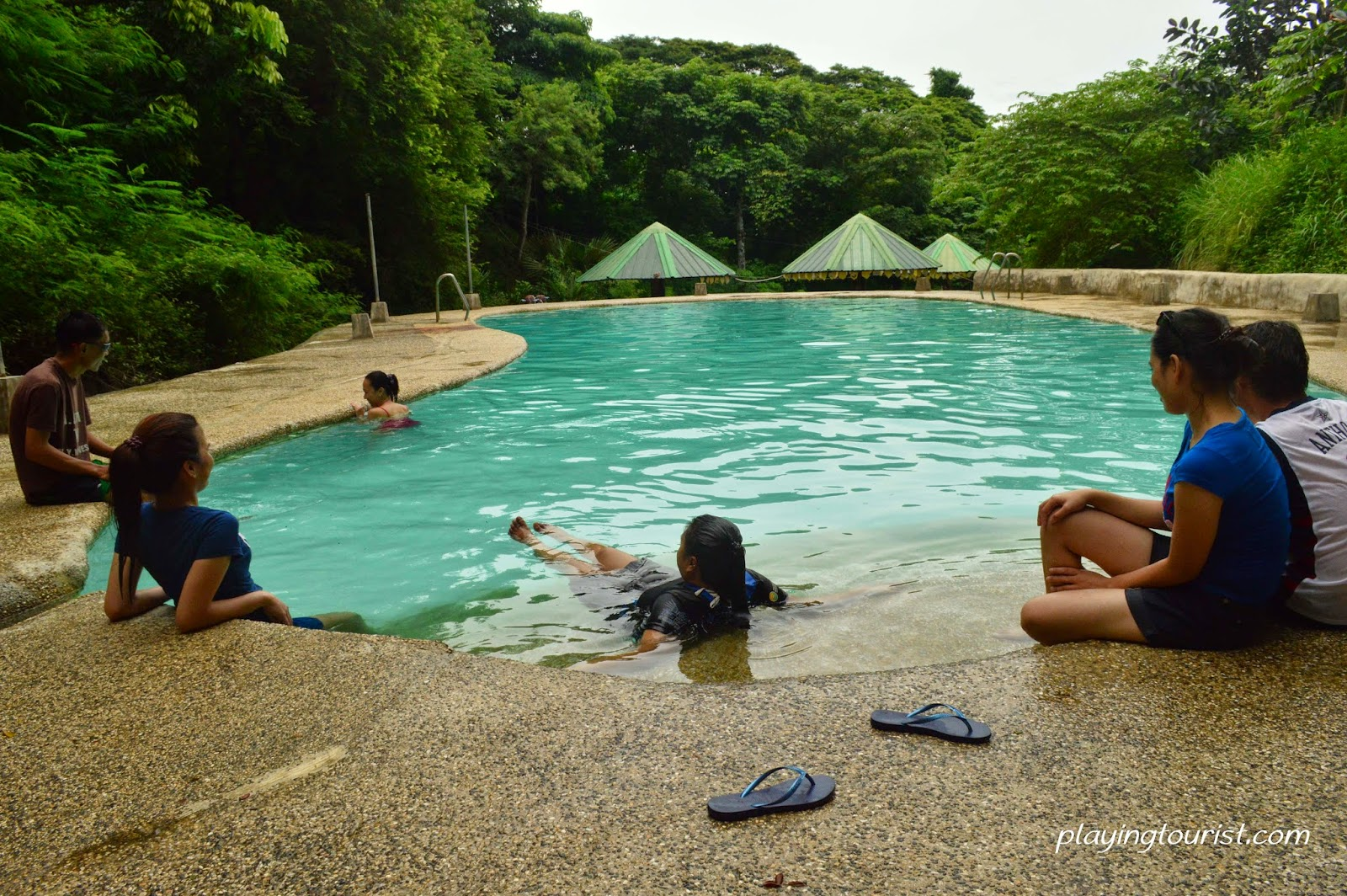 Swimmign Pool Balungao Hot Spring