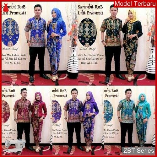 ZBT01809 Kebaya Batik Couple Lilit Pramesti Baru BMGShop