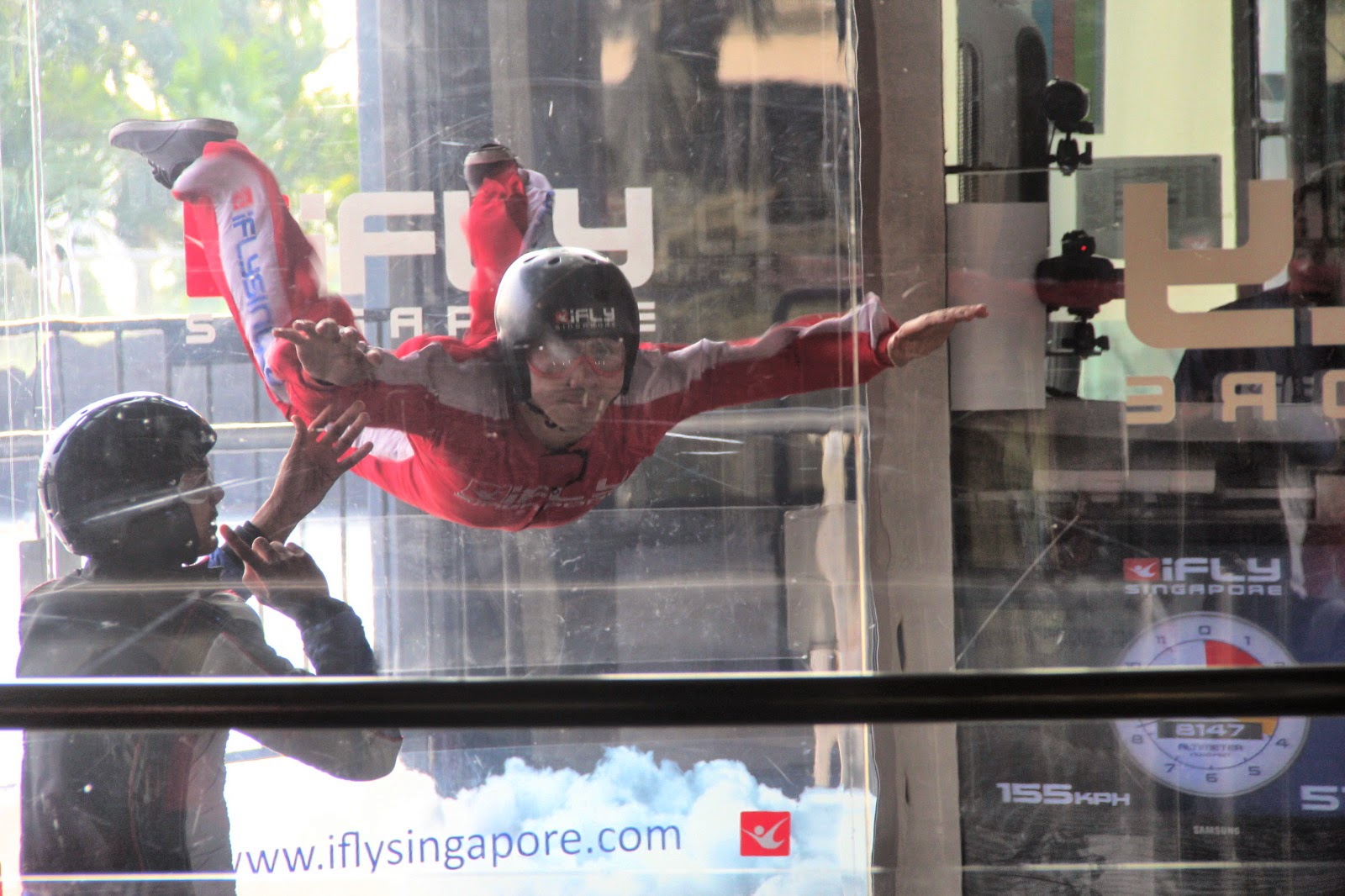Defying Gravity: Indoor Skydiving in Singapore