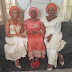 Lovely photo of Waje with her mom and sister