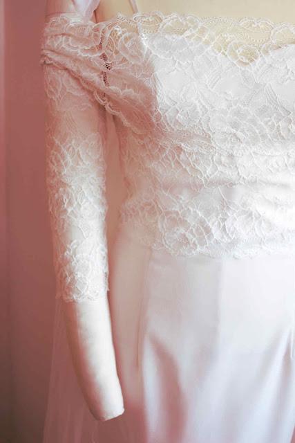 robe de mariée sur mesure par modéliste couturière à Versailles